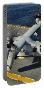 An Mv-22 Osprey Lands Aboard Uss Portable Battery Charger