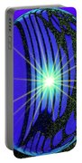 An Orb In Abstract 2 Portable Battery Charger