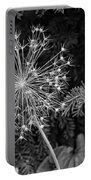Anatomy Of A Flower Monochrome Portable Battery Charger