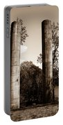 Ancient Columns By The River Portable Battery Charger