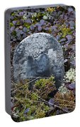 Ancient Gravestone. Portable Battery Charger