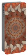 Ancient Wheel Of Time Portable Battery Charger