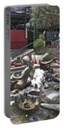 Andrea's Fountain At Ghirardelli Square Portable Battery Charger
