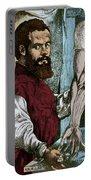 Andreas Vesalius, Flemish Anatomist Portable Battery Charger