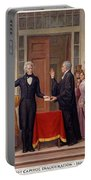 Andrew Jackson At The First Capitol Inauguration - C 1829 Portable Battery Charger