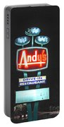 Andy's Drive-in Portable Battery Charger by Jost Houk