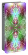 Angel Of The Faery Realm Portable Battery Charger