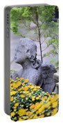 Angel Of The Garden Portable Battery Charger