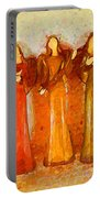 Angels Rejoicing Together Portable Battery Charger