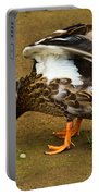 Angry Mallard Portable Battery Charger