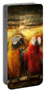 Animal - Parrot - Parrot-dise Portable Battery Charger