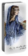 Ann Bronte (1820-1849) Portable Battery Charger