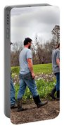 Another Cotton Pickin' Day Portable Battery Charger