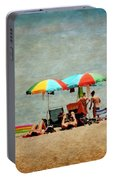 Another Day At The Beach Portable Battery Charger