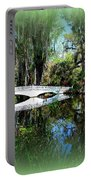 Another White Bridge In Magnolia Gardens Charleston Sc II Portable Battery Charger