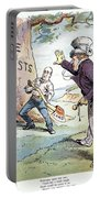 Anti-trust Cartoon, 1904 Portable Battery Charger