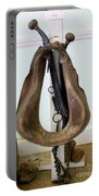 Antiquated Horse Collar Portable Battery Charger