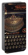 Antiquated Typewriter Portable Battery Charger