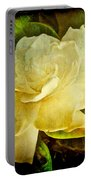 Antique Gardenia Blossom Portable Battery Charger
