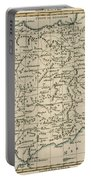 Antique Map Of Spain Portable Battery Charger