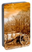Antique Wagon Portable Battery Charger