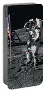 Apollo 17 Astronaut Salutes The United Portable Battery Charger