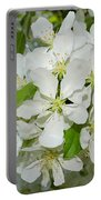 Apple Blossoms On The Trail Portable Battery Charger