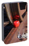 Apple Juice Railroad 4 Portable Battery Charger