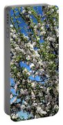 Apple Tree In Bloom Portable Battery Charger