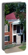 Appomattox County Court House 1 Portable Battery Charger by Teresa Mucha