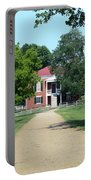 Appomattox County Court House 2 Portable Battery Charger by Teresa Mucha