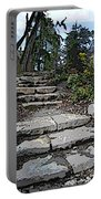 Arboretum Stairway Portable Battery Charger by Tim Allen