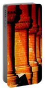 Archaic Columns Portable Battery Charger by Karen Wiles