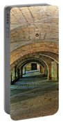 Arched Walkway In Provence Portable Battery Charger