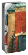 Arcitecture  Painted Effect Portable Battery Charger