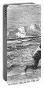 Arctic: Bear Hunting, 1871 Portable Battery Charger