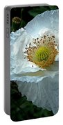 Arctic Poppy Portable Battery Charger