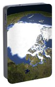 Arctic Sea Ice, 1979 Portable Battery Charger