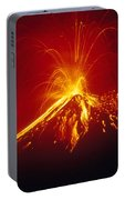 Arenal Volcano Erupting Portable Battery Charger