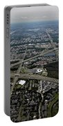 Ariel View Of Orlando Florida Portable Battery Charger