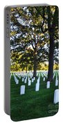 Arlington Cemetery Graves Portable Battery Charger
