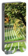 Arlington National Cemetery In The Fall  Portable Battery Charger