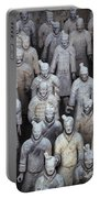 Army Of Terracotta Warriors In Xian Portable Battery Charger