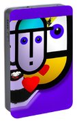 Art Lover Portable Battery Charger