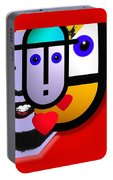 Art Lover Revisited Portable Battery Charger