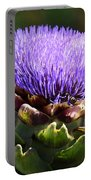 Artichoke Flower  Portable Battery Charger