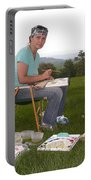 Artist In Action En Plein Air Portable Battery Charger