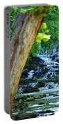 As The River Runs Through It Portable Battery Charger