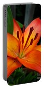 Asiatic Lily Named Gran Paradiso Portable Battery Charger
