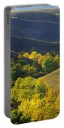 Aspen Bluffs In Autumn Colors Portable Battery Charger